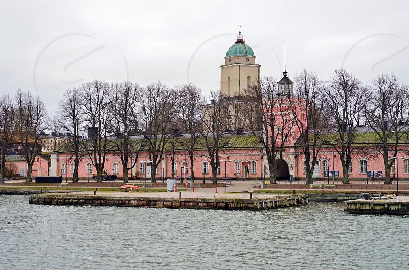 The Suomenlinna fortress in Helsinki Finland photo