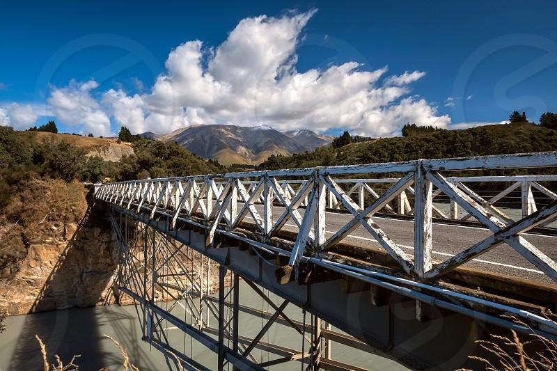 Rakaia Gorge Bridge photo