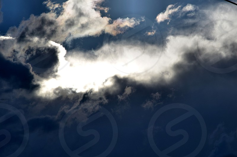 Clouds Sky nature light photo