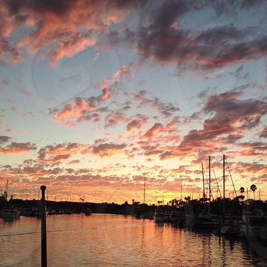 Marina Sunset  photo