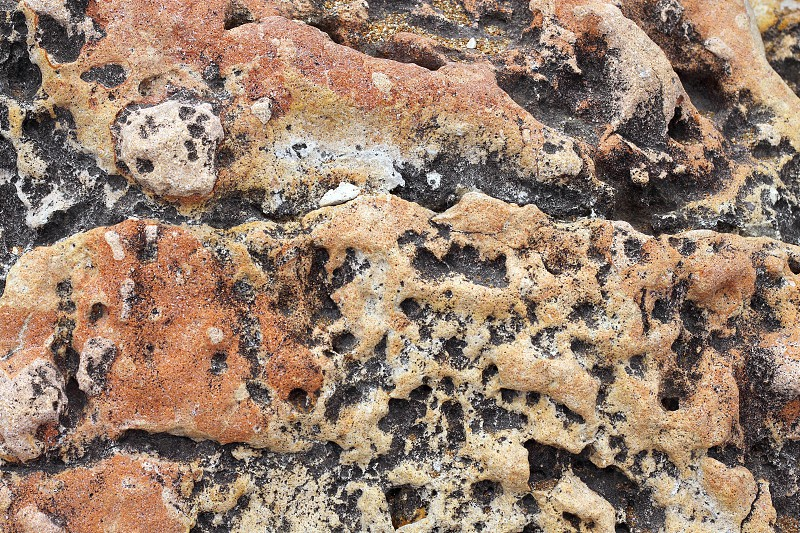 mediterranean coastal limestone aged  photo