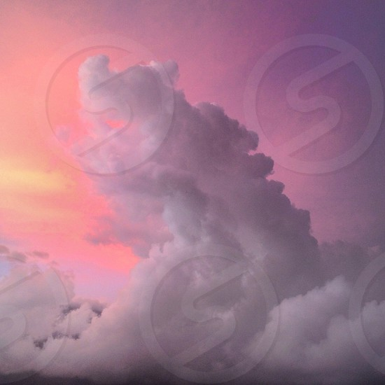 Clouds cloudy sunset sky sweet candy pink Caracas Venezuela Latinoamérica nature landscape latín america south America travel traveling latam photo