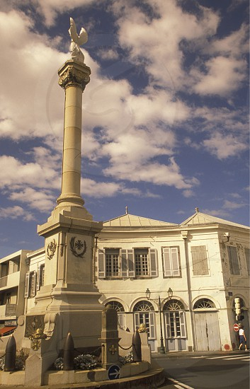 the city of St Denis on the Island of La Reunion in the Indian Ocean in Africa. photo