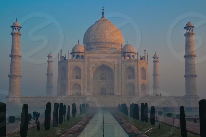 Taj Mahal in Agra India photo