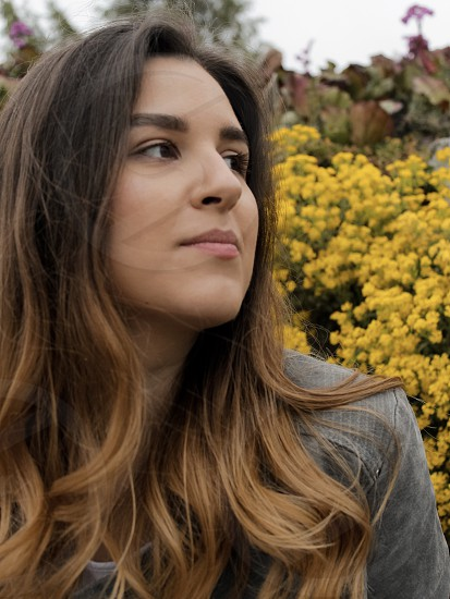 Skin beauty girl portrait  photo