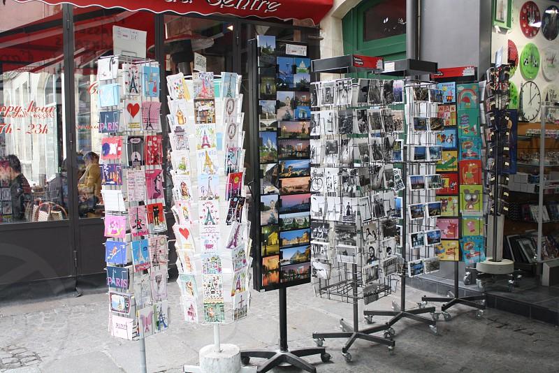 Postcards galore! [Paris] photo