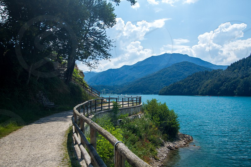 Lake in Northern Italy photo