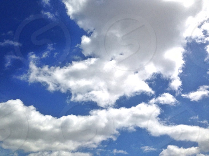 Clouds sky nature spring photo