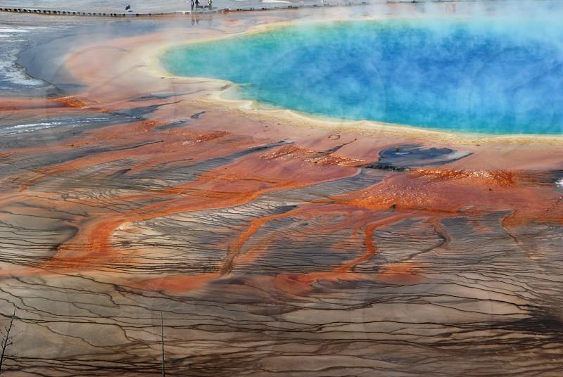 Grand Prismatic Yellowstone NP Wyoming. photo