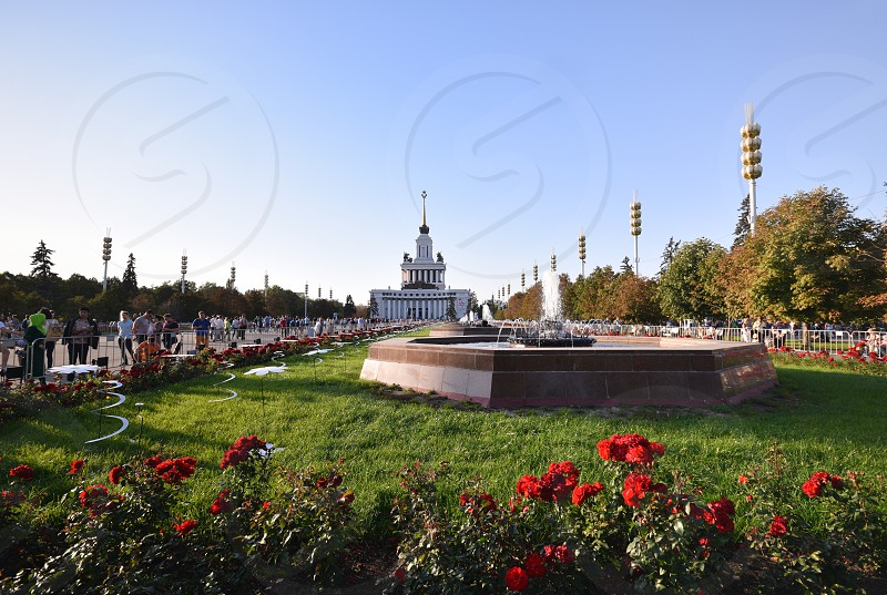 VDNKh Moscow Russia photo