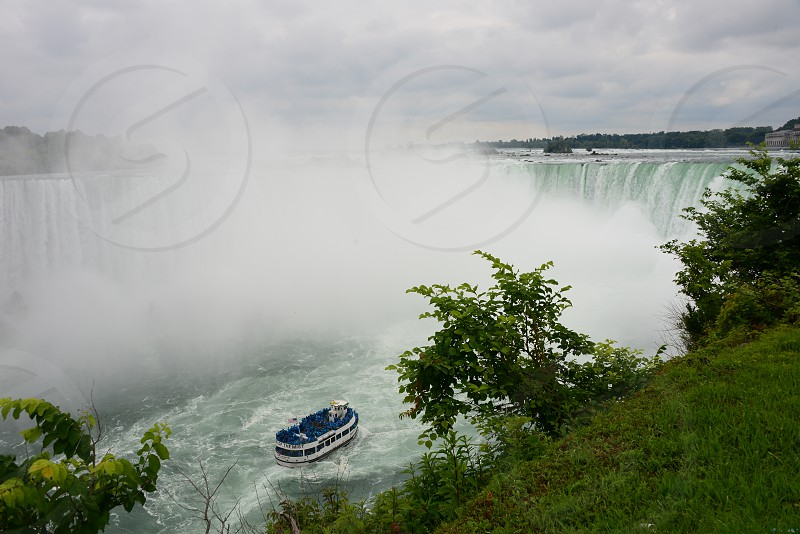 Niagra Falls taken from the Canadian Side photo