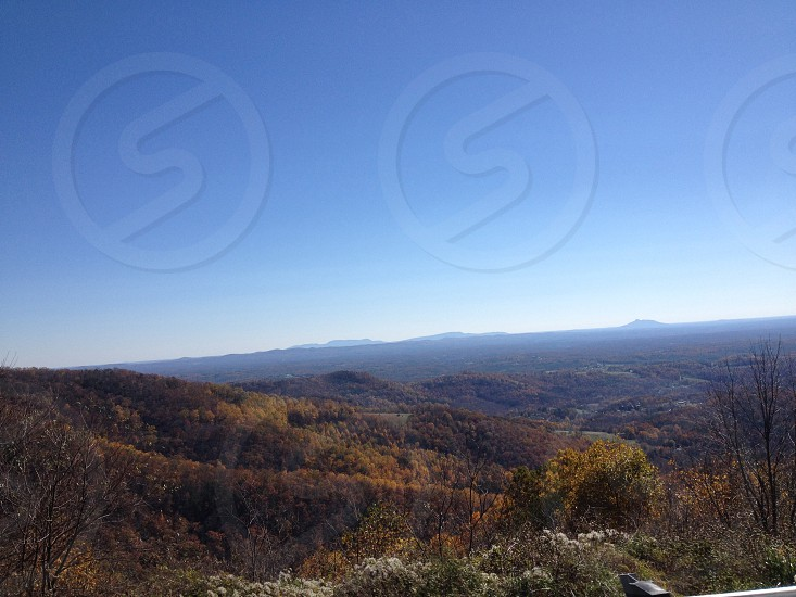 Blue ridge mountains photo