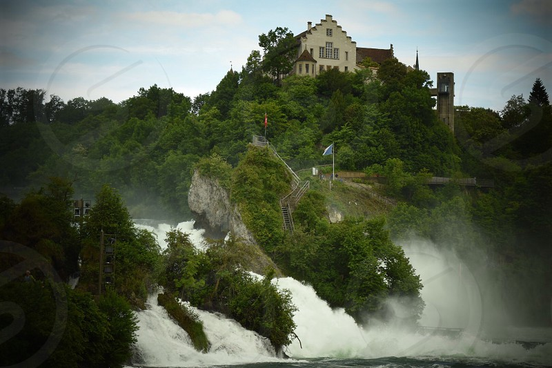 Waterfalls  swidzeland suiza suisse zurich photo