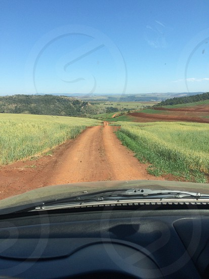 Dirt road wildlife countryside trail Pajero mitsubishi photo