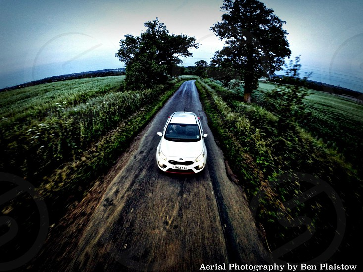 All new KIA Pro_Cee'd shot in action from above  photo