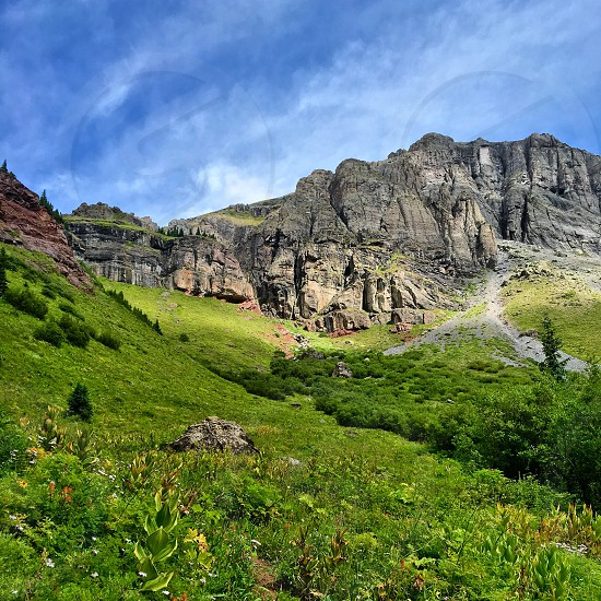 Ice Lake Trail Colorado photo