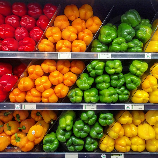 Vegetables healthy organic market photo