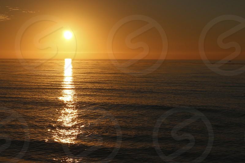 Sunset - Pacific Beach photo