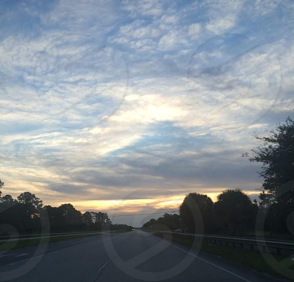 Sunrise in Jupiter FL. photo