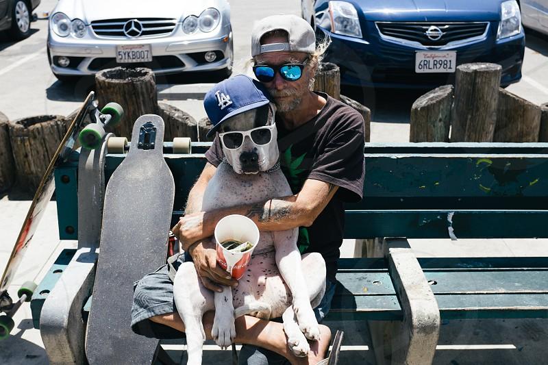 Venice Beach Man's Best Friend photo