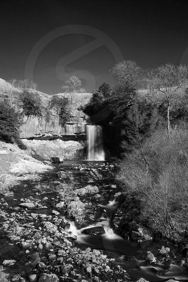 Waterfall at Ingleton falls  photo