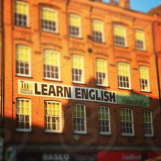 English school Camden London  photo