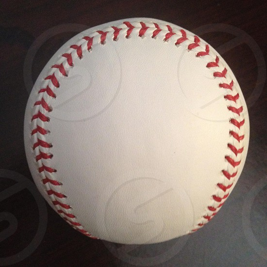 Baseball circle sphere photo