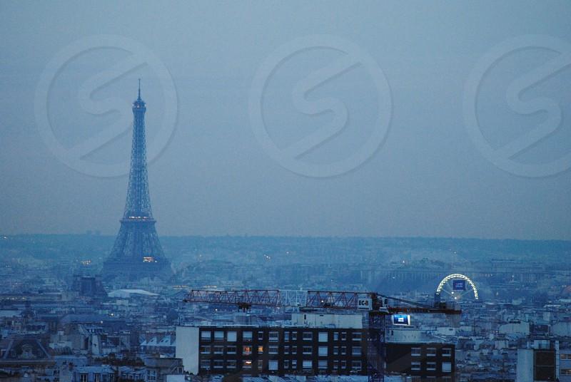 Paris France travel summer photo