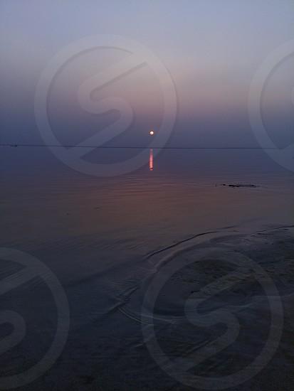 padma river in Bangladesh and indian border photo