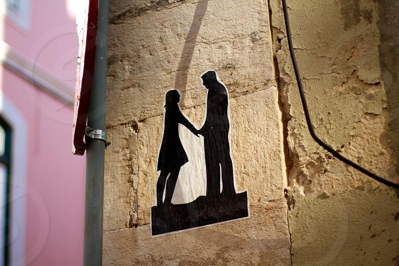 couple silhouette view photograph photo
