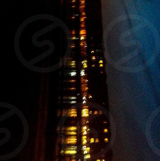 Blurred light photo