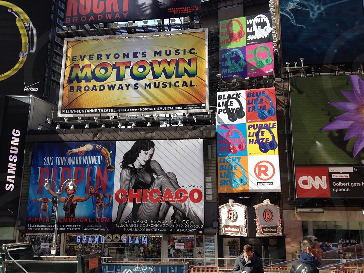 chicago cnn motown billboards time square photo