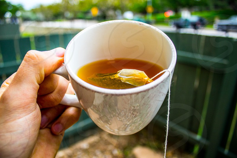 Hot Tea in the Morning photo