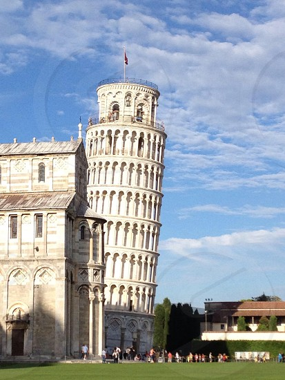 The pending tower Pisa Italy photo