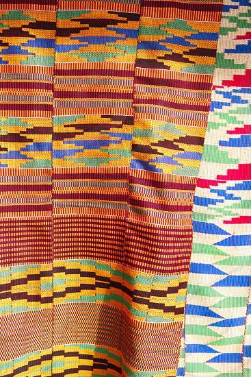 Textile - African Kente Cloth photo