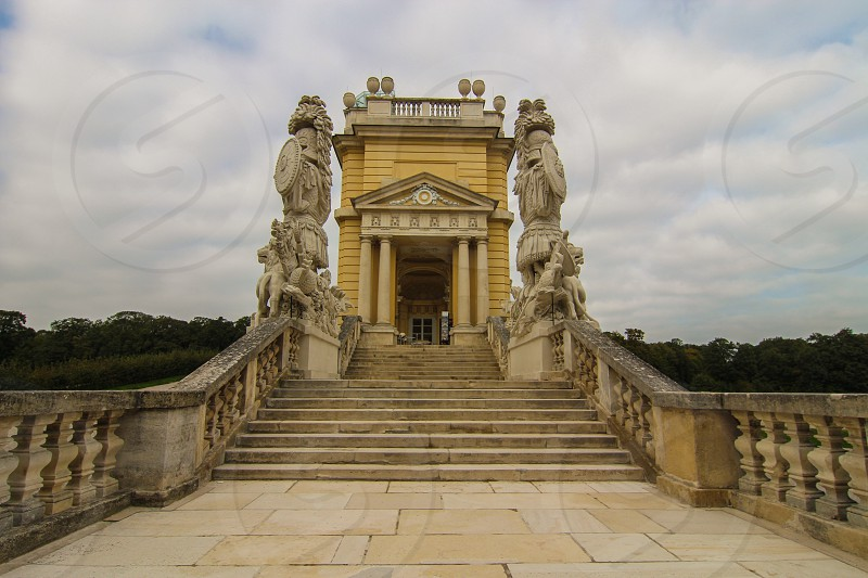 Steps Gloriette photo