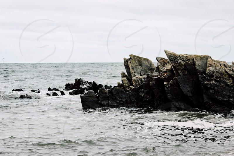 waterwavesseaoceanMainecoasteast coast photo