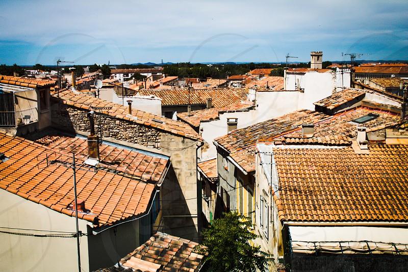 Rooftops of Arles photo