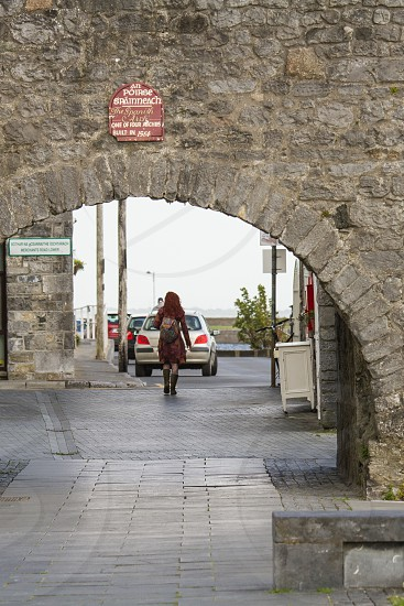 The Spanish Arch in Galway Ireland photo
