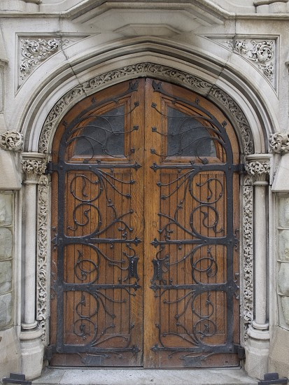 Cathedral doors photo