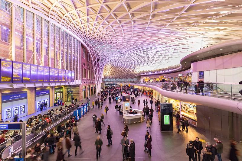 King's Cross station London photo