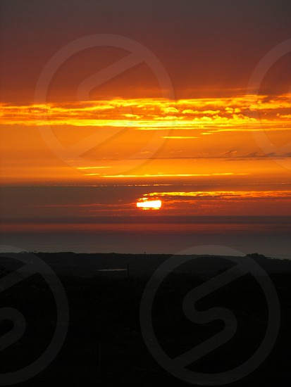 Big Island sunset photo