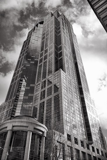 Building Seattle downtown  photo