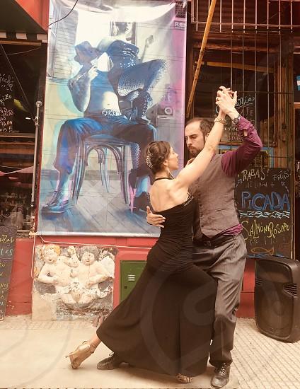 Tango dancerstravel street photography  photo