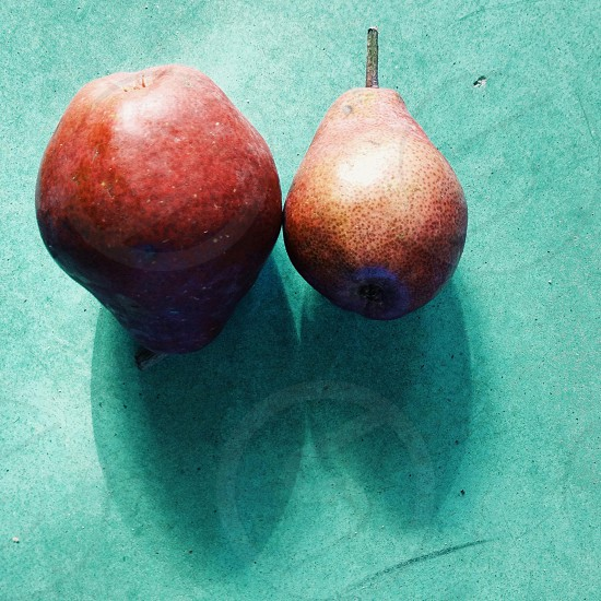 red bosc pears photo