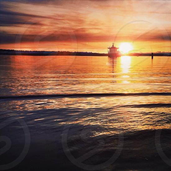 Tacoma WA sunset photo