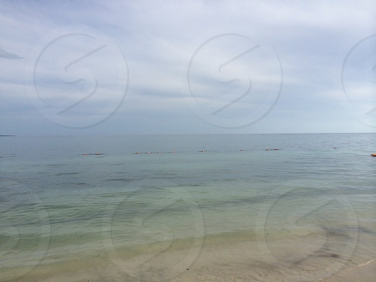 The Caribbean from the beaches of Jamaica   photo