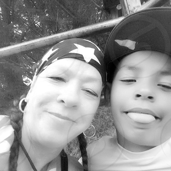 My Son & Myself   mother son mixed races celebration of life children  different  love photo