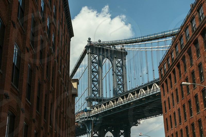 brooklyn bridge photo photo