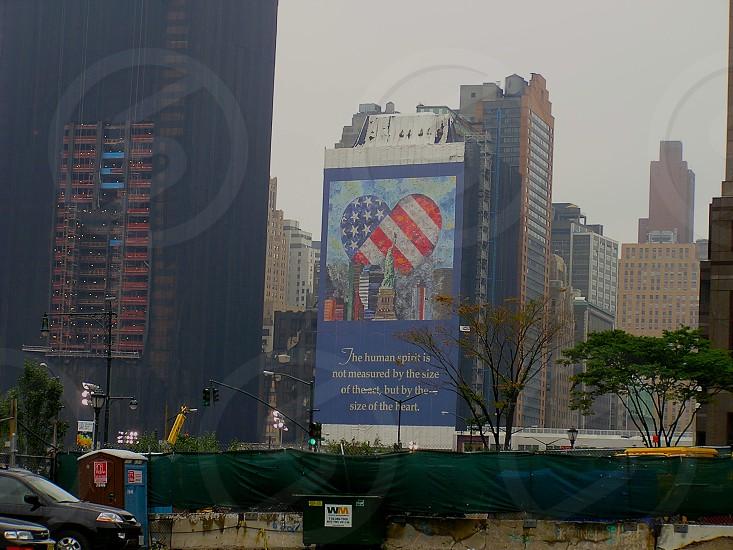Rebuilding of World Trade Center New York City New York photo